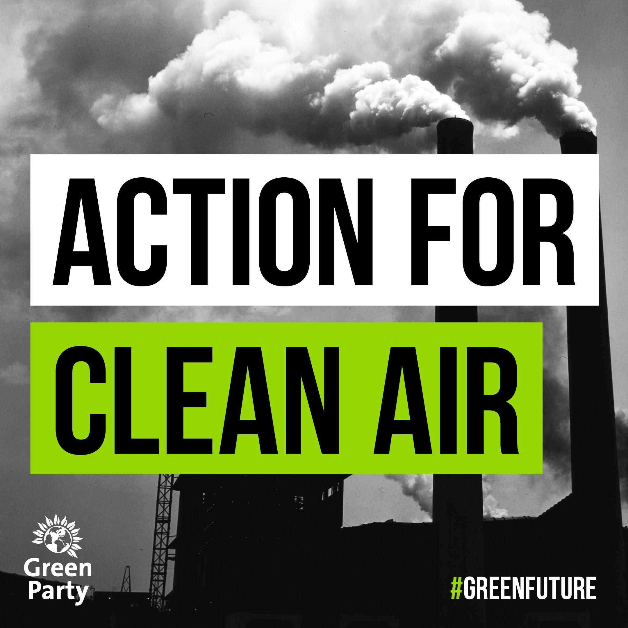 Clean air smoke