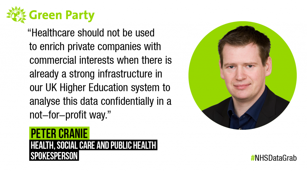'Opt out today to save your medical information from the Great NHS Data Grab'
