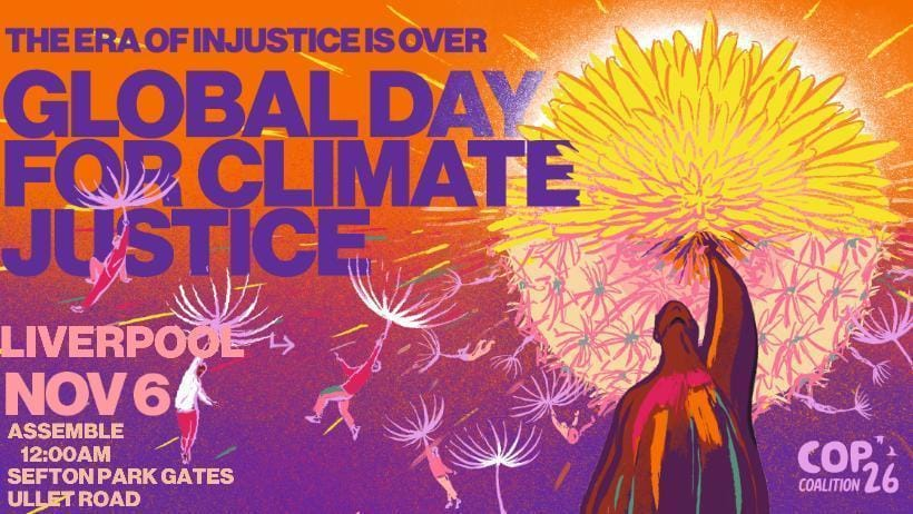 Global Day for Climate Justice - Liverpool 6 November